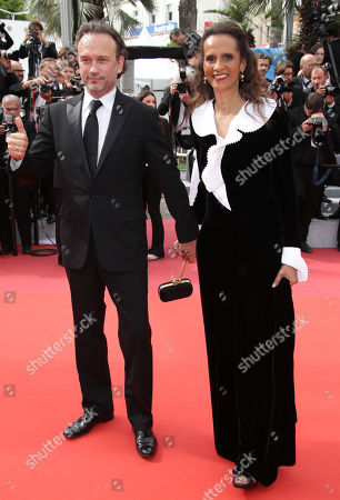 Vincent Perez and wife Karine Silla