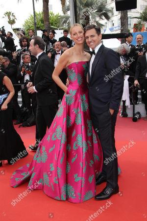 Karolina Kurkova and husband Archie Drury