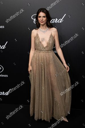 Josephine Japy poses for photographers upon arrival at the Chopard Trophee event at the 72nd international film festival, Cannes, southern France