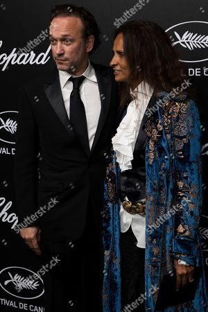 Vincent Perez poses for photographers upon arrival at the Chopard Trophee event at the 72nd international film festival, Cannes, southern France