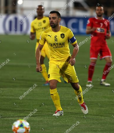 Xavi Hernández. Qatar's Al-Sadd player Xavi Hernandez, former Barcelona and Spain midfielder, controls the ball during his final match with Iran's Persepolis in AFC Champions League at the Azadi stadium in Tehran, Iran, . Xavi Hernandez retired from soccer as a player. He quit international football in 2014 and left Barcelona one year later after 17 seasons. He has since played for Al-Sadd in Qatar while preparing for a future as a manager
