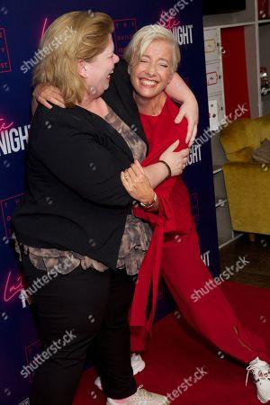 Katy Brand and Emma Thompson