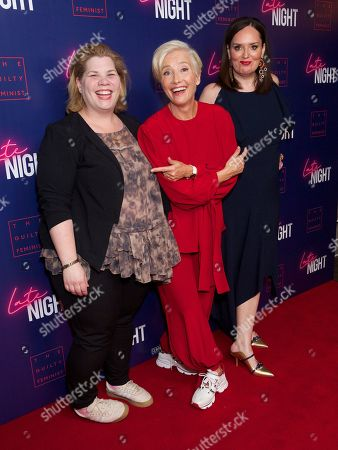 Katy Brand, Emma Thompson and Deborah Frances-White