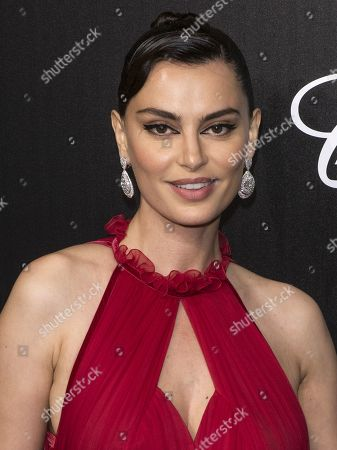 Stock Photo of Catrinel Marlon attends the Trophee Chopard Dinner at the Agora during the 72nd annual Cannes Film Festival, in Cannes, France, 20 May 2019. The festival runs from 14 to 25 May.