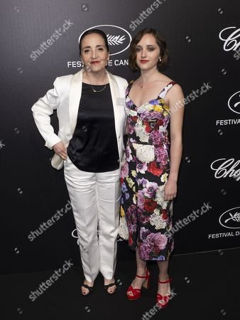 Dominique Blanc (L) and daughter Eva Jean attend the Trophee Chopard Dinner at the Agora during the 72nd annual Cannes Film Festival, in Cannes, France, 20 May 2019. The festival runs from 14 to 25 May.
