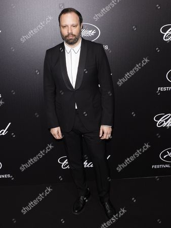 Yorgos Lanthimos attends the Trophee Chopard Dinner at the Agora during the 72nd annual Cannes Film Festival, in Cannes, France, 20 May 2019. The festival runs from 14 to 25 May.
