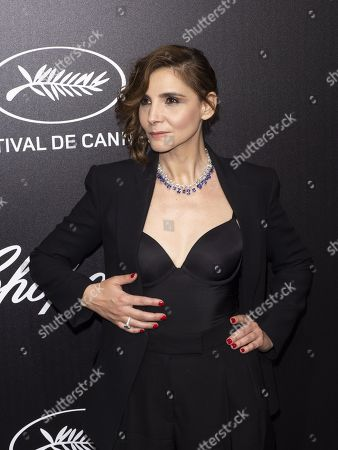 Clotilde Courau attends the Trophee Chopard Dinner at the Agora during the 72nd annual Cannes Film Festival, in Cannes, France, 20 May 2019. The festival runs from 14 to 25 May.