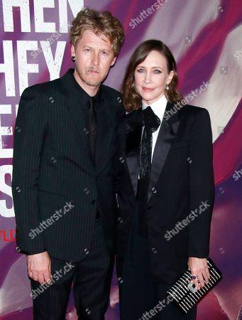 Renn Hawkey and Vera Farmiga