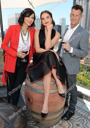 Catherine Bell, Bailee Madison and James Denton