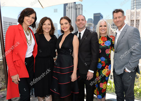 Stock Photo of Catherine Bell, Orly Adelson, Bailee Madison, Jonathan Eskenas, Michelle Vicary and James Denton