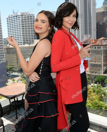 Bailee Madison and Catherine Bell