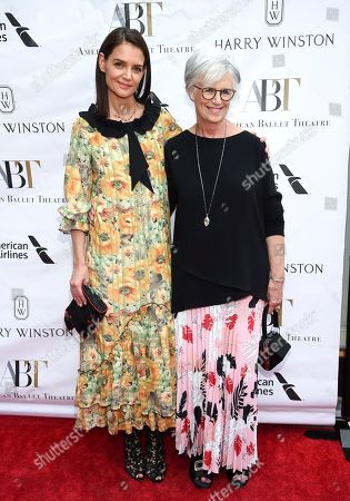 Katie Holmes, Kathleen Stothers-Holmes. Actress Katie Holmes, left, and mother Kathleen Stothers-Holmes attend the American Ballet Theatre's annual spring gala at the Metropolitan Opera House, in New York