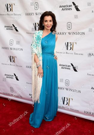 Socialite Fe Fendi attends the American Ballet Theatre's annual spring gala at the Metropolitan Opera House, in New York
