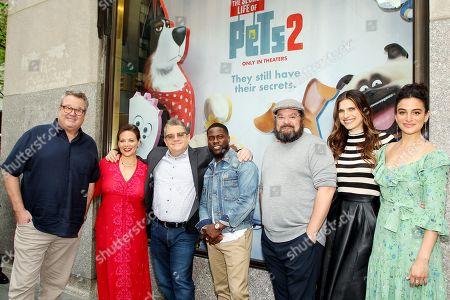 Eric Stonestreet, Meredith Salenger, Patton Oswalt, Kevin Hart, Bobby Moynihan, Lake Bell, Jenny Slate (cast)