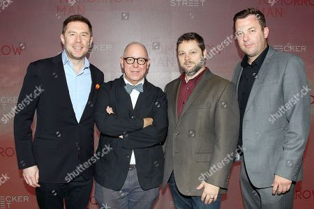 Stock Image of Tony Lipp, James Schamus Nicolaas Bertelsenand Luke Rivett