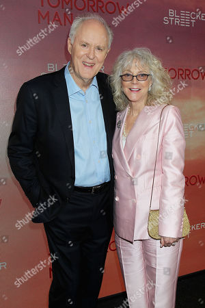 John Lithgow and Blythe Danner