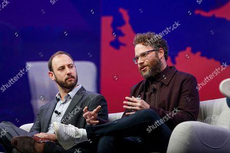 Stock Photo of Evan Goldberg, Seth Rogen
