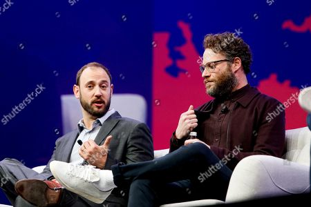 Stock Image of Evan Goldberg, Seth Rogen