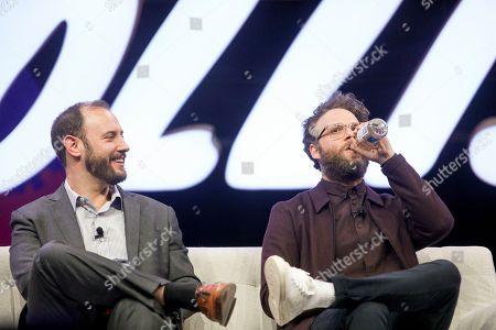 Stock Picture of Evan Goldberg, Seth Rogen