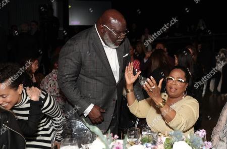 T. D. Jakes and Oprah Winfrey