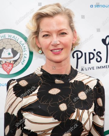 "Stock Image of Gretchen Mol attends the opening night of ""Pip's Island"" at 400 West 42nd Street, in New York"