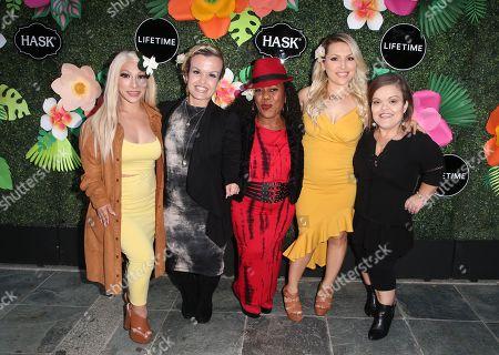 Jasmine Arteaga Sorge, Terra Jole, Tonya Banks, Elena Gant, Christy Gibel,