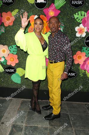 Vivica A Fox, Montel Williams