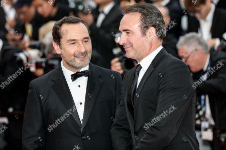 Gilles Lellouche and Jean Dujardin