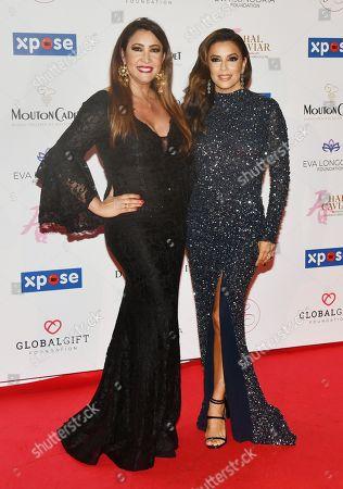 Stock Image of Maria Bravo and Lara Fabian