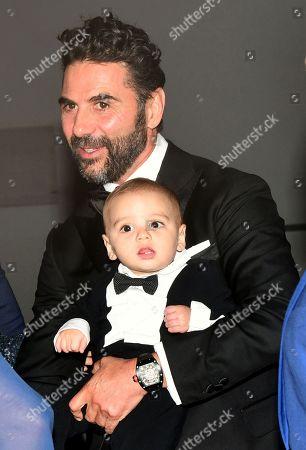 Jose Baston and son Santiago Enrique Baston