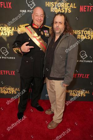 Jeffrey Ross and Writer Frank Sebastiano