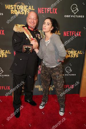 Jeffrey Ross and Sarah Silverman
