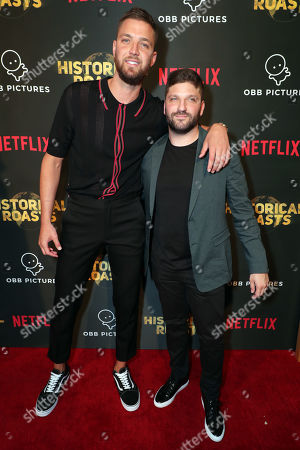 Chandler Parsons and Exec. Producer Michael D. Ratner