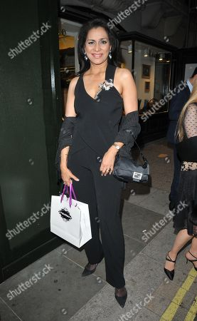 Editorial picture of Lizzie Cundy 'Tales From The Red Carpet' book launch party, London, UK - 20 May 2019