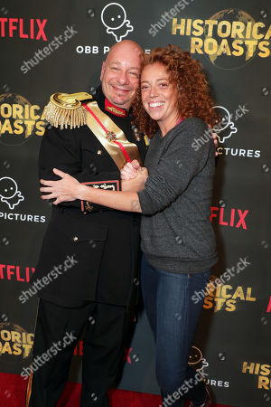 Jeffrey Ross and Michelle Wolf