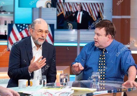 Richard Schiff and Frank Luntz