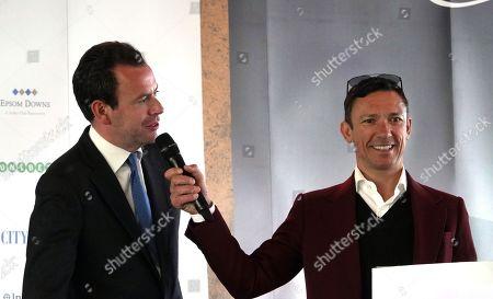 Frankie Dettori talks to ITV's Nick Luck