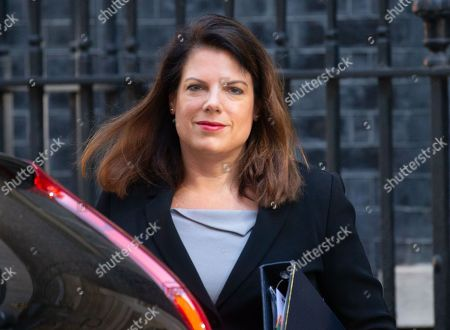 Caroline Nokes, Minister of State for Immigration, arrives for the last Cabinet meeting before the European elections.