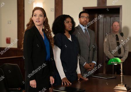 Rachelle Lefevre as Madeline Scott, Tyla Abercrumbie as Tamara Folsom and Russell Hornsby as Ezekiel 'Easy' Boudreau