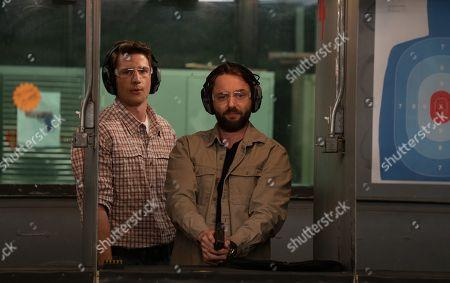 Ryan McBride as Ben Bollinger and Vincent Kartheiser as Bodie Quick