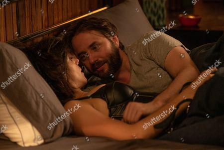 Tiffany Dupont as Nikki Castro and Vincent Kartheiser as Bodie Quick
