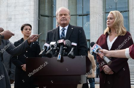Stock Picture of Kelsey Grammer as Gore Bellows and Laurie Holden as Greta Bellows