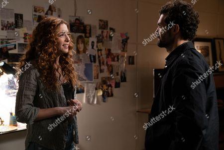 Rachelle Lefevre as Madeline Scott and David Alpay as Dylan