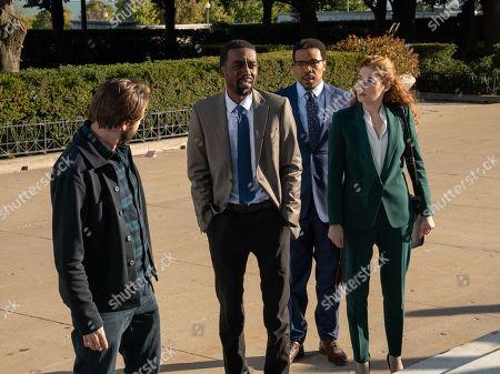 Vincent Kartheiser as Bodie Quick, Corey Hendrix as Dante Jordan, Russell Hornsby as Ezekiel 'Easy' Boudreau and Rachelle Lefevre as Madeline Scott