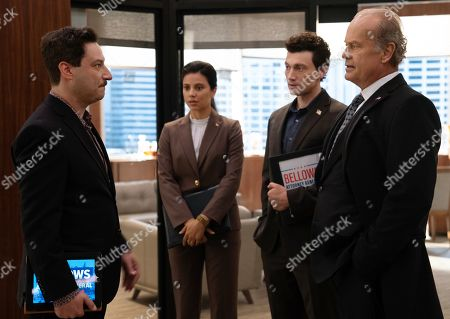 Adam Busch as Noah Weiss, Catherine Lidstone as Isabel Sanchez, Bryce Pinkham as Connor Mayfeld and Kelsey Grammer as Gore Bellows