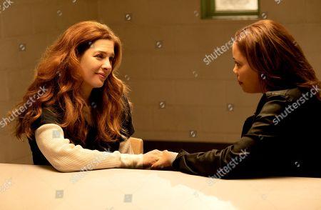 Rachelle Lefevre as Madeline Scott and Candice Coke as Wren