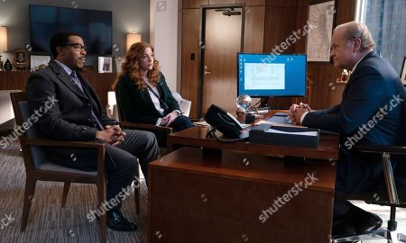 Russell Hornsby as Ezekiel 'Easy' Boudreau, Rachelle Lefevre as Madeline Scott and Kelsey Grammer as Gore Bellows
