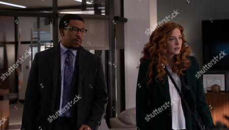 Russell Hornsby as Ezekiel 'Easy' Boudreau and Rachelle Lefevre as Madeline Scott