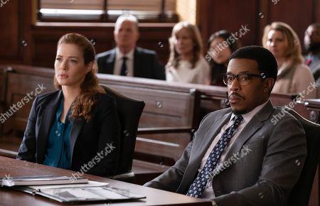 Rachelle Lefevre as Madeline Scott and Russell Hornsby as Ezekiel 'Easy' Boudreau