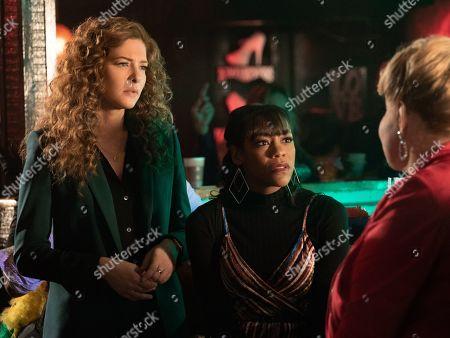 Rachelle Lefevre as Madeline Scott and Nikki M. James as Violet Bell